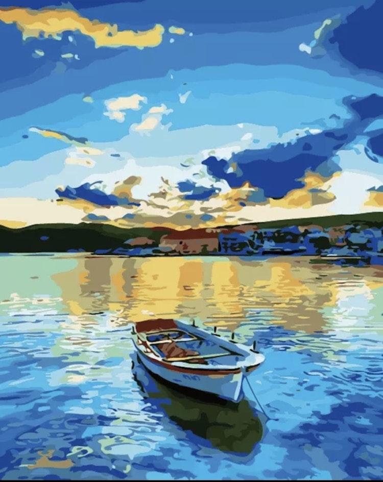 Båt i sjö