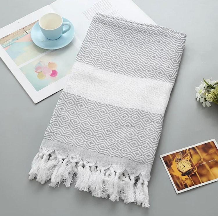 Hamam handduk, Hamam towel Peshtemal, 100 x 180 cm