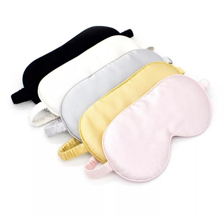 Eyeshade i 100 % lyxigt silke