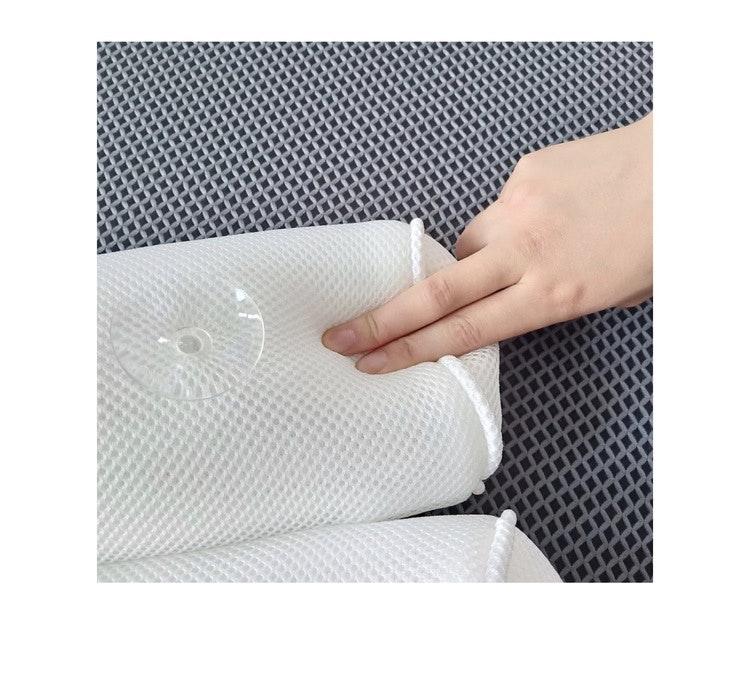 SPA kudde, lyxig badkarskudde i 3D mesh.