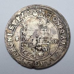 *Kristina 8 öre 1634