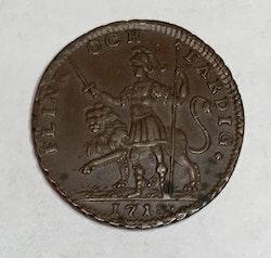 Karl XII, 1 Daler, Flink o Färdig