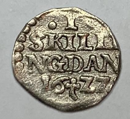 Christian IV, 1 Skilling, 1622
