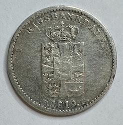 Frederik VI, 1 Rigsbankdaler 1819
