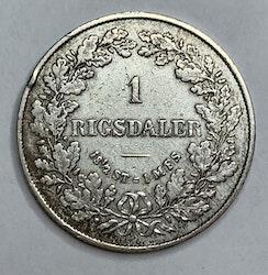 Fredrik VII, 1 Rigsdaler 1855