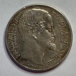 Christian III, 1 Speciedaler 1848