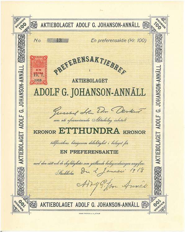 Adolf G. Johansson-Anhäll AB