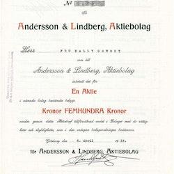 Andersson & Lindberg,  AB