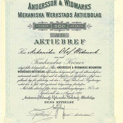 Andersson & Widmarks Mekaniska Werkstads AB