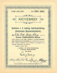 Apotekare J.G. Lobergs Fabriks AB