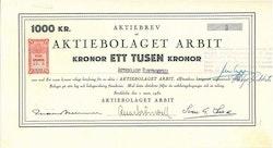 Arbit AB