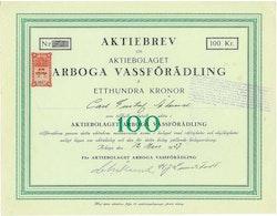Arboga Vassförädling, AB