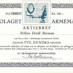 Armémateriel AB