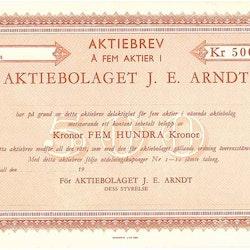Arndt AB , J.E.