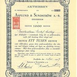 Asplund & Sundström AB