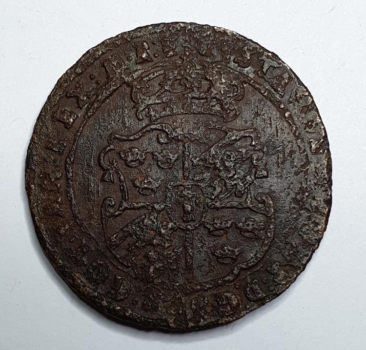 Gustav II Adolf 1 Öre 1629 Nyköping