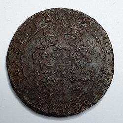 Gustav II Adolf 1 öre Nyköping  1629
