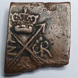 Gustav II Adolf, 1/2 öre klipping