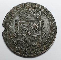 Gustav II Adolf, 1/2 Öre 1629 Nyköping