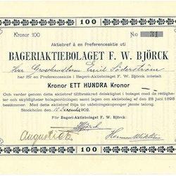 Bageri AB F.W. Björk