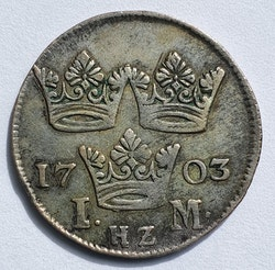 Karl XII, 1 Mark 1703