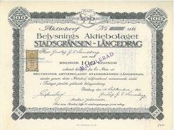 Belysnings AB Stadsgränsen-Långedrag