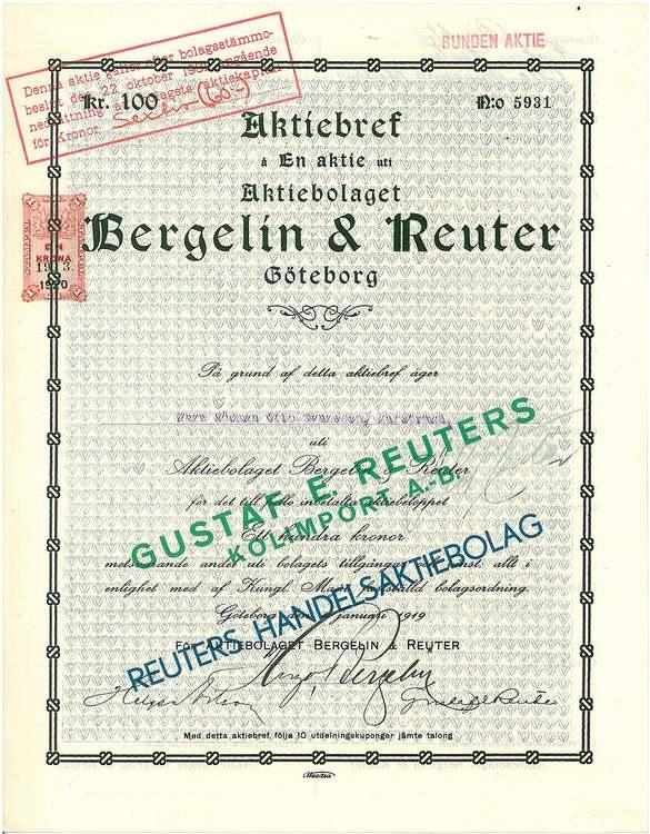Bergelin & Reuter AB
