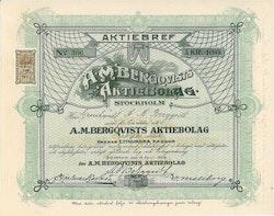 Bergqvist AB A.M.