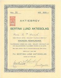 Bertina Lund AB