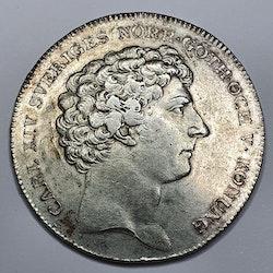 Karl XIV Johan 1 Riksdaler 1823