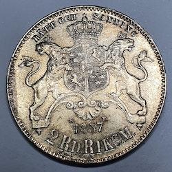 Oscar I, 2 Rdr Rmt 1857