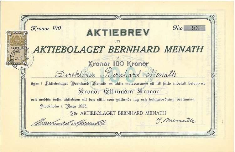 Bernhard Menath AB