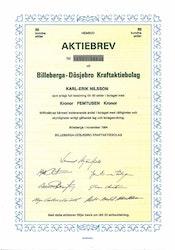 Billeberga - Dösjöbro Kraft AB