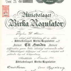 Birka Regulator AB