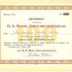 Bloms Järnvaru AB O. S.