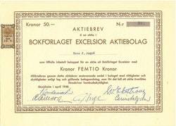 Bokförlaget Excelsior AB