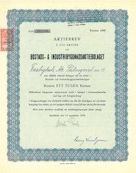 Bostad och Industribyggnads AB, 1944
