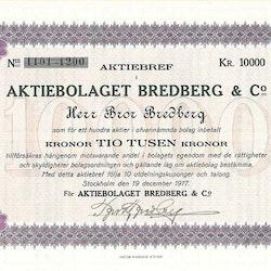 Bredberg & Co, AB