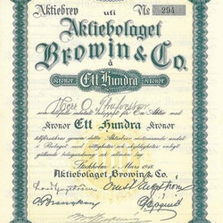 Browin & Co AB