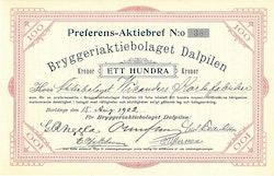 Bryggeri AB Dalpilen