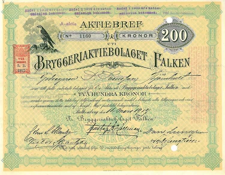 Bryggeri AB Falken