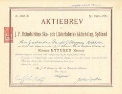 Brändströms Sko och Läderfabriks AB J.P.