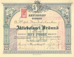 Brännö AB, 1 000 kr, 1912