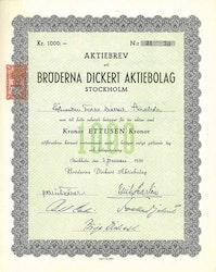 Bröderna Dickert AB