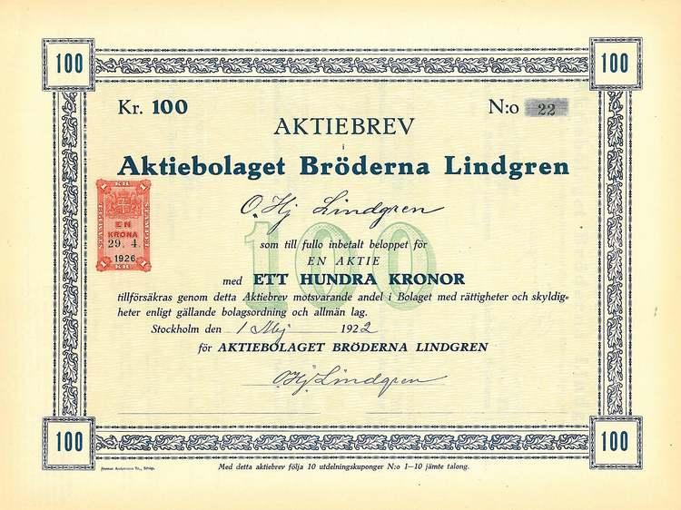 Bröderna Lindgren AB