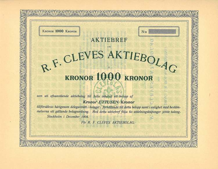 Cleves AB R.F