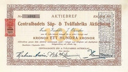 Centralbadets Såp- & Tvålfabriks AB