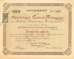 Central-Automaten AB