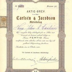 Carlsén & Jacobson AB