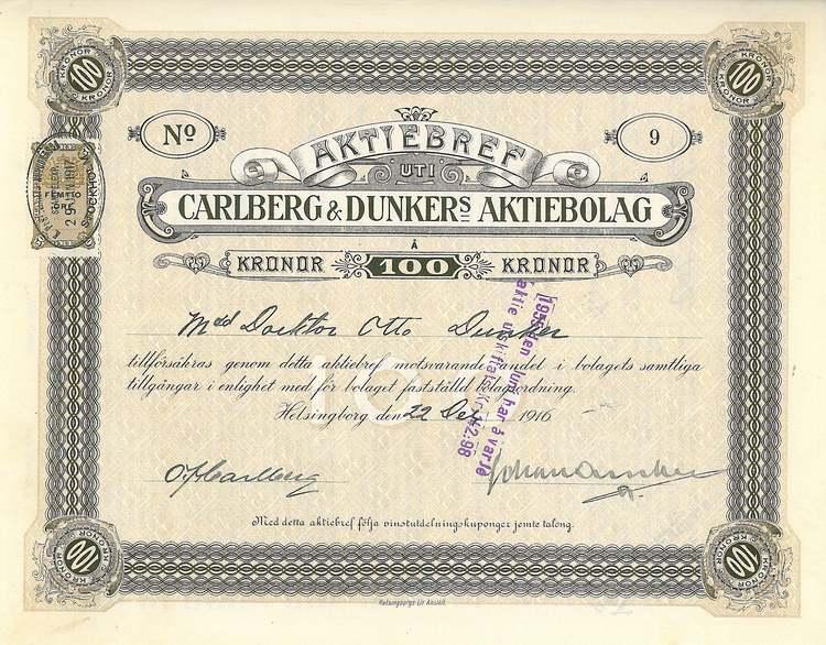 Carlberg & Dunkers AB